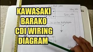 C D I Wiring Diagram Connections Kawasaki Barako1 Tagalog