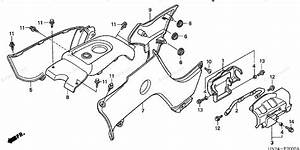 Honda Atv 2004 Oem Parts Diagram For Body Cover  Trx500fa