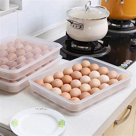 Large Capacity Home Kitchen Egg Box Egg Case 30 Egg Holder