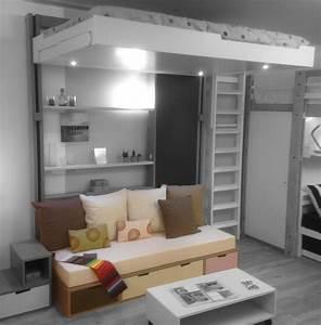 Lit Au Plafond Electrique : lit au plafond fashion designs ~ Premium-room.com Idées de Décoration