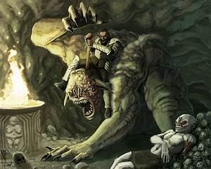 Beowulf - GRENDEL'S MOTHER