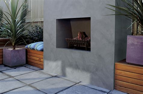 garden feature wall colours natural stone