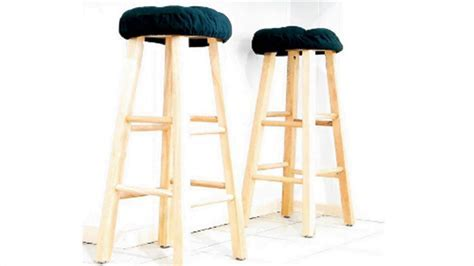HOW TO : Make Square Bar Stool Covers   YouTube