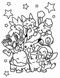 Pokemon Free To Color For Kids All Pokemon Coloring