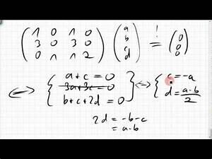 Matrix Kern Berechnen : 04a 1 rang spaltenraum defekt kern einer matrix ~ Themetempest.com Abrechnung