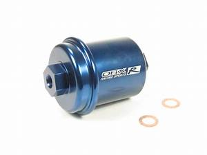 Obx Blue Fuel Filter Honda Cr