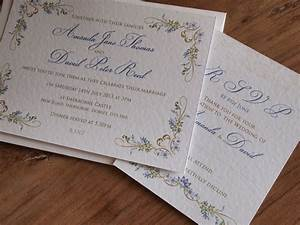 french country style wedding invitations paper pleasures With country looking wedding invitations