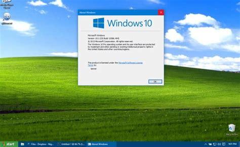 prosty spos 243 b na transformację windows 10 w windows xp windows7 pl
