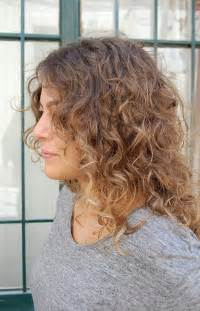 Long Curly Ombre Hair