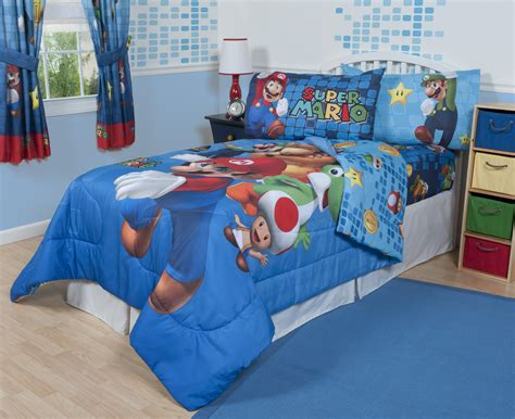 Nintendo Super Mario Fresh Look Sheet Set Home Bed