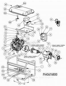 Honda Eb6500 Generator Parts Diagram  Honda  Auto Wiring
