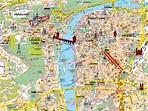 Map of Prague, Czech Republic