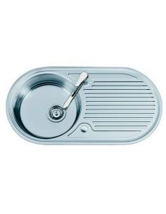 large kitchen sink with drainer bowl sink basket accessory suits oboe centroval 8898