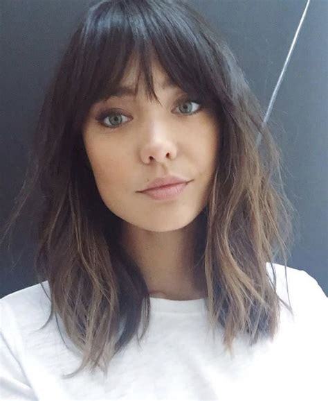 current hairstyle trends  women   bangs