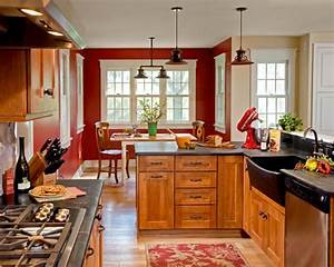 futuristic red walls kitchen 9 on other design ideas with With best brand of paint for kitchen cabinets with wall art san diego