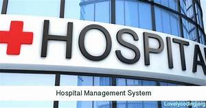 Hospital Management System Project For Final Year