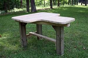 Useful Wood shooting bench plans - heavy duty - easy to
