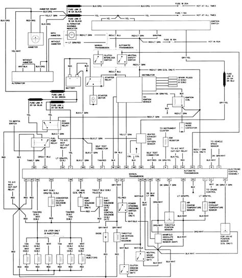 1993 Ford Ranger 4x4 Wiring Diagram by 88 Bronco 2 Fuel Injected Automatic 4x4 80 96 Ford