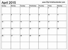 April 2016 Monthly Calendar Printable Calendar Template 2018