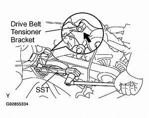 2003 Toyota Rav4 Serpentine Belt Routing And Timing Belt Diagrams