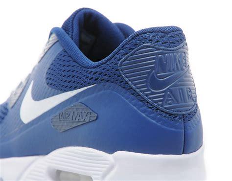nike air max 90 ultra essential blue sneaker bar detroit