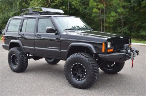 built jeep cherokee purchase used 2001 jeep cherokee sport 4x4 xj fully built