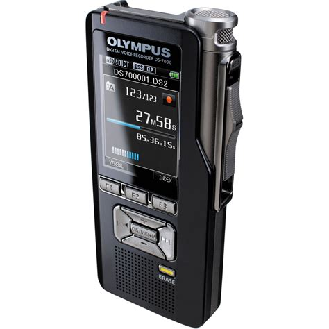 Background Voice Recorder Olympus Ds 7000 Professional Dictation Digital