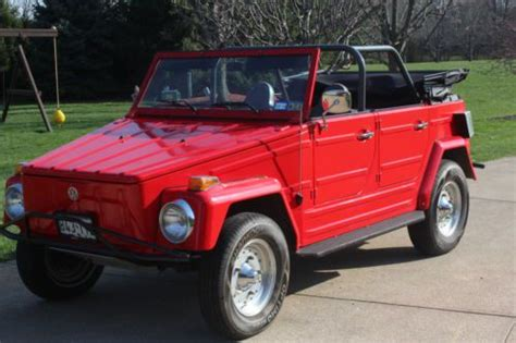 Buy Used 1973 Volkswagen Thing Base 1.6l In Indianapolis