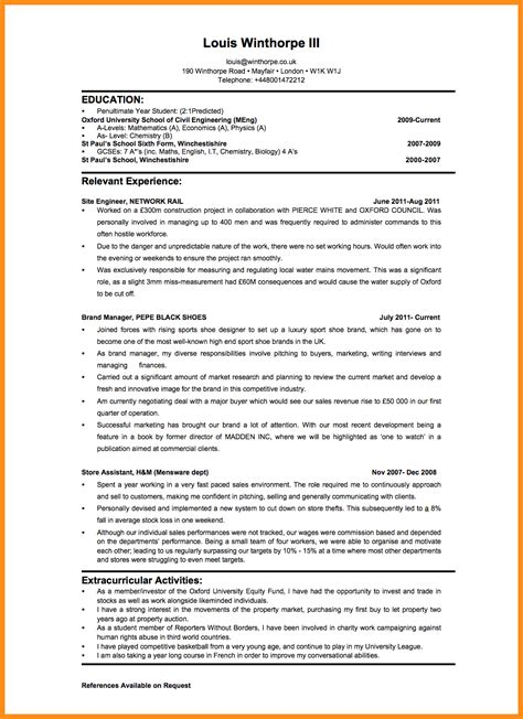 present tense resume 28 images past or present tense
