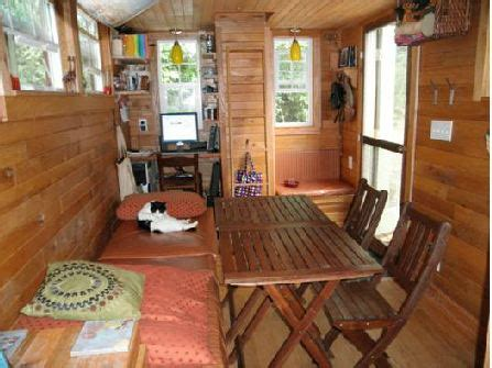 inside the tiny house hooked on houses