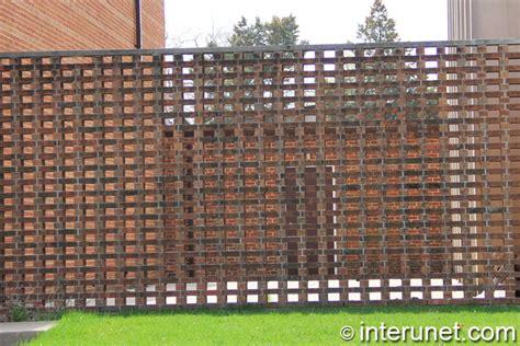 brick fence designs stylish simple brick fence design interunet