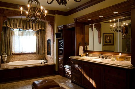 texas hill country style traditional bathroom oklahoma city  brent gibson classic home