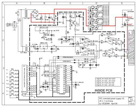 vdc digital pic power supply schematic design
