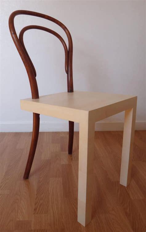 histoire de la chaise hommage à la chaise thonet n 14 par célia persouyre