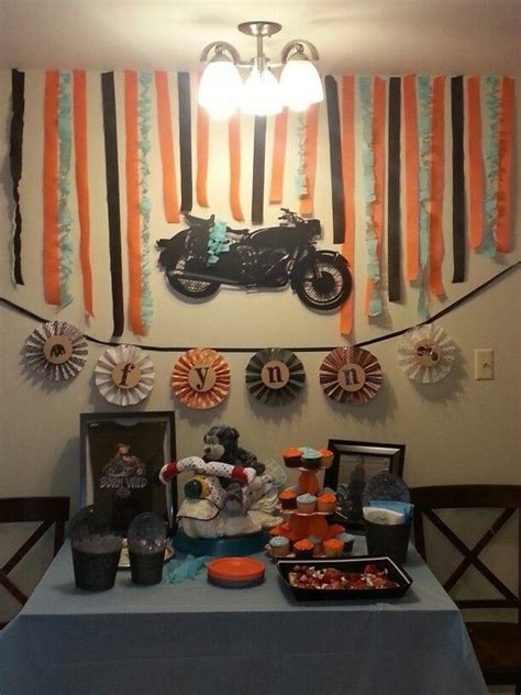 motorcycle baby shower 50 amazing baby shower ideas for boys baby shower themes
