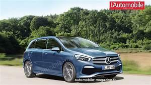 Nouvelle Mercedes Classe B : la future mercedes classe b prend la route l 39 automobile magazine ~ Nature-et-papiers.com Idées de Décoration