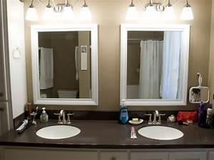 Tips framed bathroom mirrors midcityeast for Bathroom morrors
