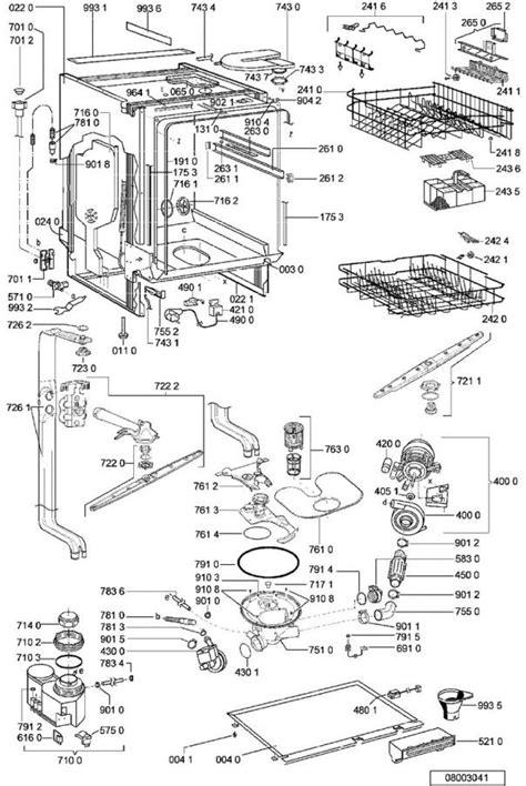 pieces detachees lave vaisselle vues 233 clat 233 es et pi 232 ces d 233 tach 233 es whirlpool lave vaisselle adg8442nb 854244229730