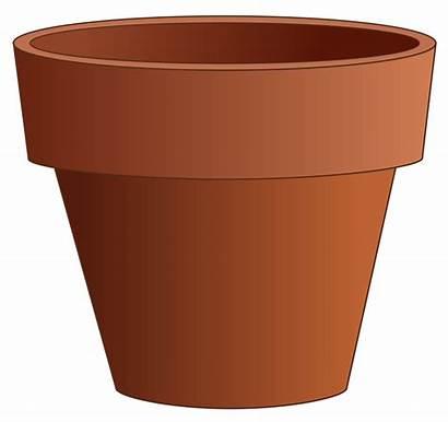 Pot Clay Clip Simple Svg Onlinelabels