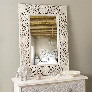 Miroir Adhika Blanchi Maisons Du Monde