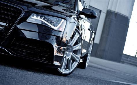 Audi A8 Hybrides Voitures Noires Coupé Sport Papier Peint