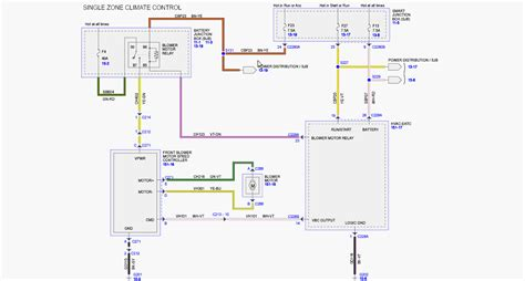 2007 F150 Ac Wiring Diagram by 2011 Ford F150 Climate Wiring Diagram 45 Wiring