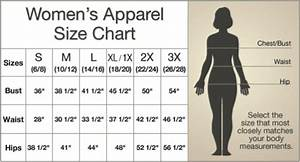 Ltd Update New Size Charts For Women 39 S Apparel