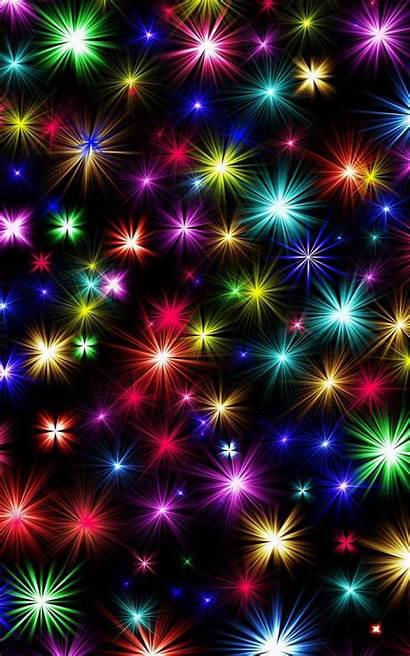 Fireworks Shining Colorful 4k