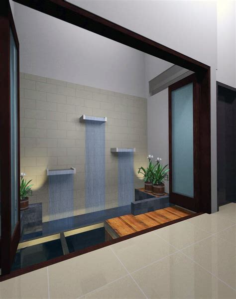 desain dapur  taman belakang wallpaper dinding
