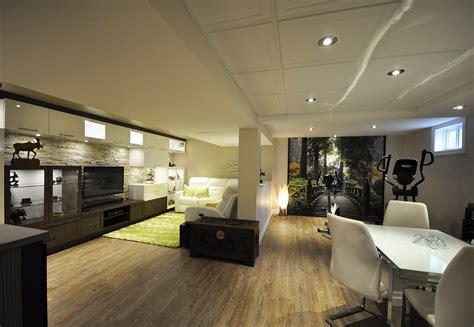 cuisine en sous sol rénovation de sous sol à québec par des pros meilleur rangement au sous sol
