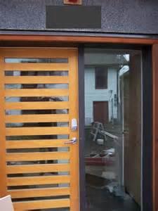 Mid Century Modern Front Door
