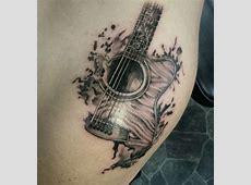 Luna Tattoo Ukulele Bass Tattoo Art