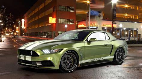 2017 Ford Mustang Notchback Design 3 Wallpaper Hd Car