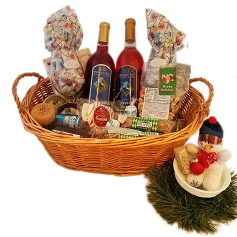 dessert wine gift basket award winning wine  presque